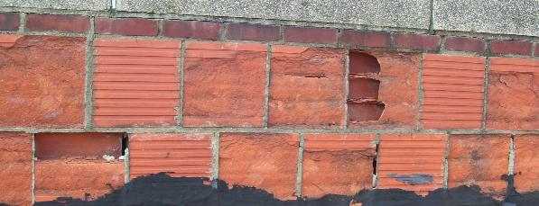 Structural Terra Cotta Clay Tile